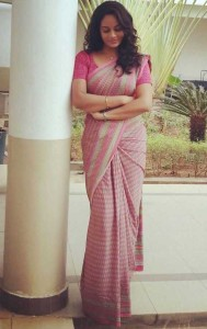 Suja Varunee Latest Saree Pics