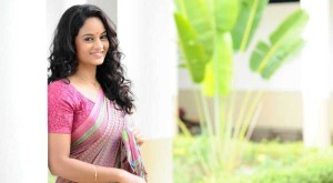 Suja Varunee Latest Cute Photos in Saree