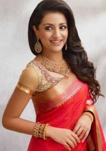 Actress Trisha Photoshoot Photos in Bridal Wear