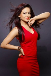 Aksha Latest Hot Photoshoot Images in Red Dress