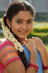 Actress Bhama Cute Half Saree Images