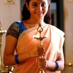 Bhama Cute Photos in Half Saree