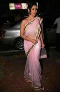 Manisha Koirala Unseen Spicy Saree Stills