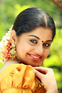 Meera Nandan Cute Pictures in Saree