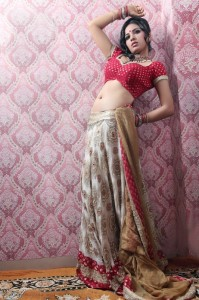Srushti Dange Sexy Navel Show Pictures Gallery