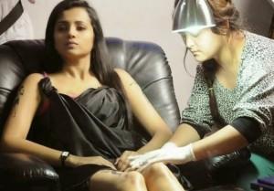 Trisha New Unseen Tattoo Pics Gallery